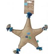 Lief! Lief! hondenspeelgoed canvas ster met piep boys blauw