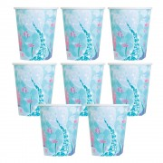 Mermaid Party Cups (Pack of 8)