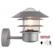 Franssen Verlichting wandlamp aluminium incl PIR sensor - grijs