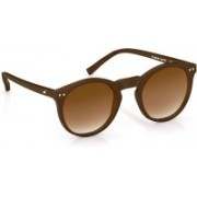Fastrack Wrap-around Sunglasses(Brown)
