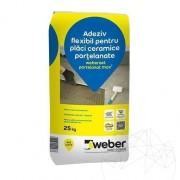 Adeziv Gresie / Piatra Naturala - Weber Set.Portelanat Max² - 25 KG