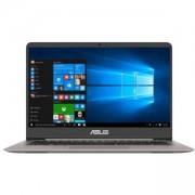 Лаптоп Asus UX410UA-GV097T, Intel Core i3-7100U (2.4GHz, 3MB), 13.3' FullHD (1920x1080) LED AG, HD Cam, 4096 DDR4 2133MHz, 90NB0DL1-M02800