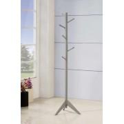 Coaster 900632 Grey finish wood 6 peg modern slim coat rack