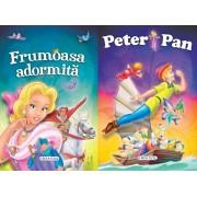 2 Povesti: Frumoasa adormita si Peter Pan