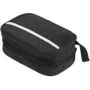Mei&Ge Multi-Functional Waterproof Compact Hanging Cosmetic Pouch Toiletries Kit Make Up & Travel Bag (Black) Travel Toiletry Kit(Black)