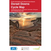 Fietskaart 5 Cycle Map Dorset Downs | Sustrans
