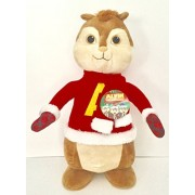 20 Inch Alvin and the Chipmunks Plush Christmas Greeter