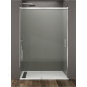 Mampara de ducha Basic 01 fijo y 01 puerta corredera