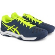 Asics GEL-CHALLENGER 11 Tennis Shoes For Men(Blue)