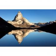 """FIRST Heating WIST NG """"Matterhorn"""" Infrarot-Bildheizung 90 x 60 / 800 W (WIST Motive: Matterhorn 2, Rahmen: Mit Rahmen)"""