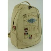 Školní batoh Unlimited - béžový