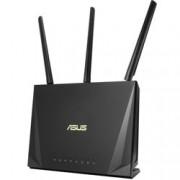 Рутер Asus RT-AC85P, 2400Mbps, 2.4GHz(600Mbps), 5GHz(1733Mbps), Wireless AC, 4x LAN 10/100/1000 Mbps, 1x WAN 10/100/1000, 1x USB 3.1 Gen 1, 3x външни антени, 1x вътрешна антена