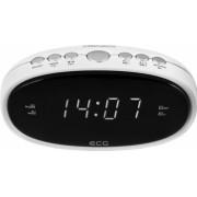 Radio cu ceas ECG RB 010 alb FM Digital memorie 10 posturi alarma dubla