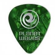 Planet Waves Green Pearl Celluloid Guitar Picks 100 pack Heavy