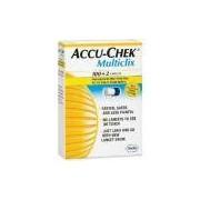 ACCU-CHEK MULTICLIX LANCETAS COM 100/2