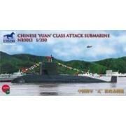 Bronco Models Plastikowy model chińskiego okrętu podwodnego klasy Yuan Bronco NB5013