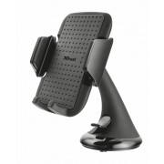 Phone Stand, TRUST Premium Car Holder for smartphones - поставка за стъклото на кола за мобилни телефони (20398)