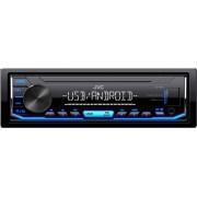 JVC Kd-X151 Autoradio Usb 1 Din Sintolettore Mp3 Potenza 50 Watt Ingresso Aux Illuminazione Blu Colore Nero - Kd-X151