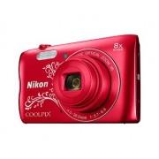 Digitalni fotoaparat Nikon Coolpix A300, crveni