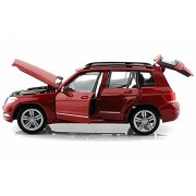 Maisto Mercedes-Benz Glk-Class Suv, Red Scale Diecast Model Toy Car