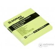 Notițe adezive Donau ECO, galben pastel, 100 file, 76x76 mm
