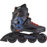 Rollerblade Cruiser Freeskates (Black/Grey Blue)