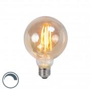 LUEDD Żarówka LED E27 5W 2200K G95 przydymiona ściemnialna
