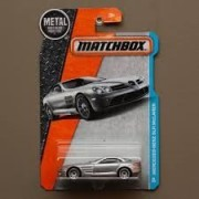 2009 Matchbox Sports Cars Mercedes Benz SLR McLaren Silver