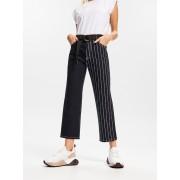 Reserved - Kalhoty s nohavicemi s potiskem - Černý