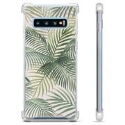 Samsung Galaxy S10 Hybride Case - Tropisch
