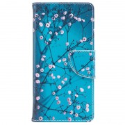 Bolsa tipo Carteira Wonder Series para Nokia 3 - Flores Brancas