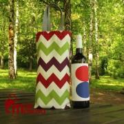 Ceger za flašu šareni 3203