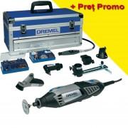 DREMEL 4000-6/128 Platinum edition Unealta multifunctionala 175W + Accesorii Speed clic