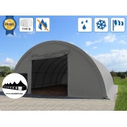 Hangár 9,15x12m 4,5m magas / 720g/m2 PVC / Tűzálló / 1m szerkezeti távolság ()