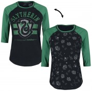 Harry Potter Slytherin Girls longsleeve zwart-groen
