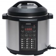 Multicooker cu gatire la presiune Heinner HPCK-6IX 6 Litri 15 programe 1000W Argintiu/Negru