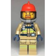 cty0962 Minifigurina LEGO City-Pompier cty0962