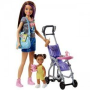 Игрален комплект Barbie - детегледачка, налични 3 модела, 1710063