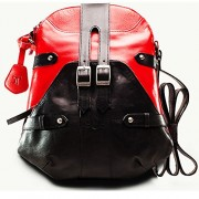 Twach Women's Sling Bag (Black-N1037Pink)