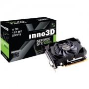 INNO3D GeForce GTX 1050 Ti Compact X1, 4GB GDDR5, DVI, HDMI, DisplayPort