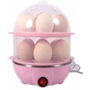 Manki fashion Multi-Function Electric 2 Layer Egg Boiler Cooker&Steamer Egg Cooker and Poacher 14 Egg Cooker,Egg Poacher,Egg Boiler Electric Automatic Off Egg Steamer,Egg Boiler with Egg Tray 509 Egg Cooker(Multicolor, 14 Eggs)
