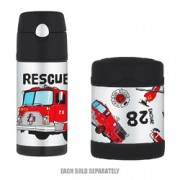 Thermos Stainless Steel Kids Firetruck Funtainers