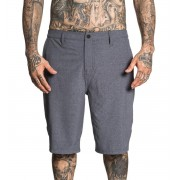 pantaloncini uomini (costumi da bagno) SULLEN - COMPLEX - DK.HEATHER CARBONE - SCM1750_DKHC