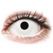 ColourVUE Crazy Lens - Whiteout - napi lencsék dioptria nélkül (2 db lencse)