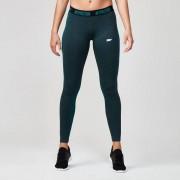 Myprotein Dames Naadloze Legging - Grijs - XL - Marble Green