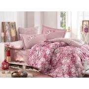 Lenjerie de pat King Hobby Home Satin DELUX Romina Pink