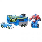 Playskool Heroes Transformers Rescue Bots Optimus Prime Racing Trailer