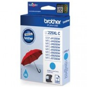 ORIGINAL Brother Cartuccia d'inchiostro ciano LC225XLC LC-225XL ~1200 Seiten 11.8ml