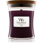 Woodwick Fig lumânare parfumată cu fitil din lemn 275 g