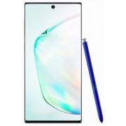 "Telefon Mobil Samsung Galaxy Note 10, Procesor Exynos 9825 Octa-core, Dynamic AMOLED Capacitive touchscreen 6.3"", 8GB RAM, 256GB Flash, Camera Tripla 16+12+12MP, 4G, Dual Sim, Wi-Fi, Android (Argintiu) + Cartela SIM Orange PrePay, 6 euro credit, 6 GB inte"